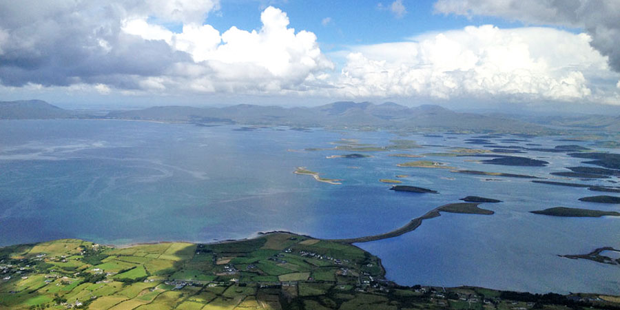 Clew-Bay-Croagh-Patrick-must-see-places-irelandways