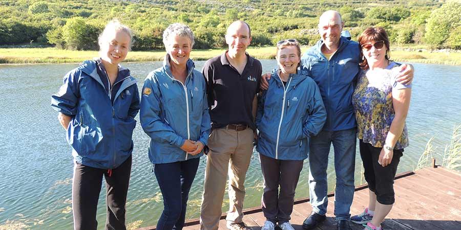 burren-way-trail-warden-volunteers-greenlife-fund-ireland