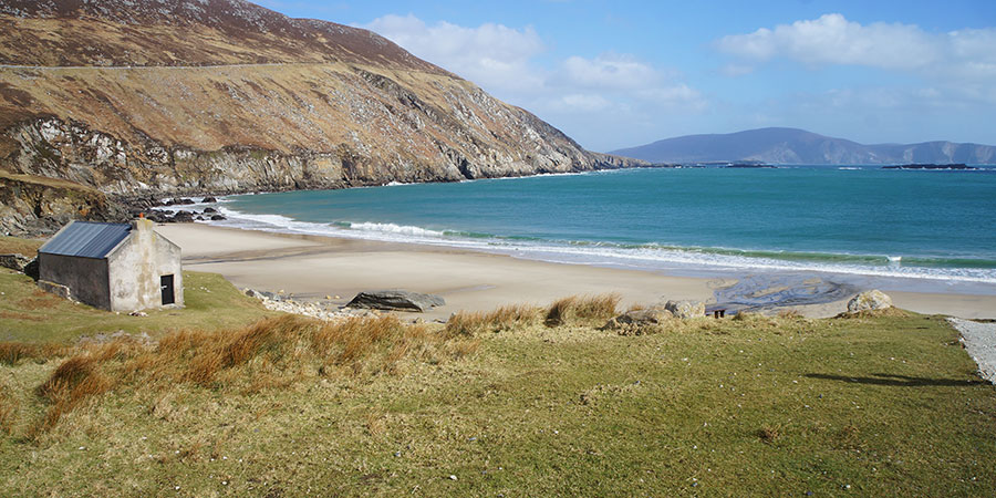 keem-beach-achill-island-hiking-cycling-ireland-irelandways