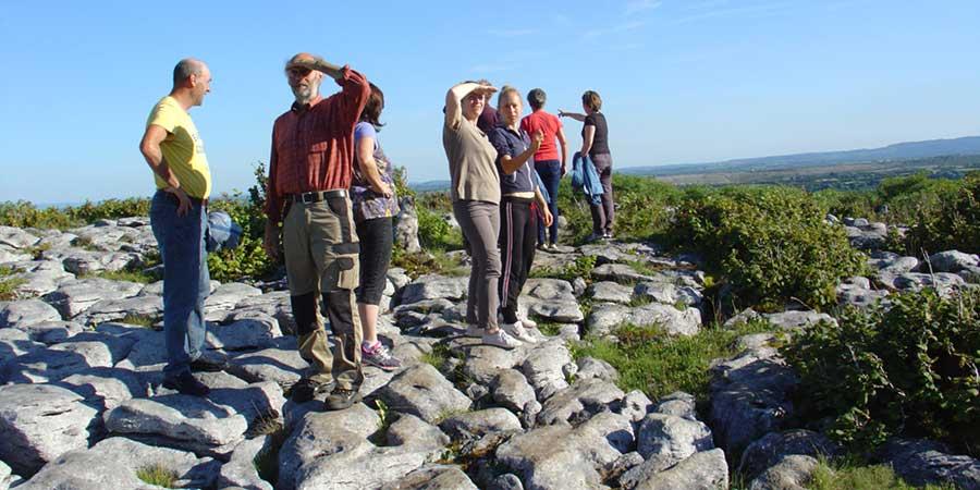 burren-way-trail-wardens-on-the-landscape-in-clare-irelandways