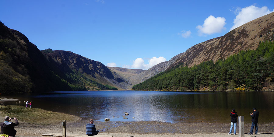 glendalough-lakes-wicklow-way-walking-ireland-ways visit ireland