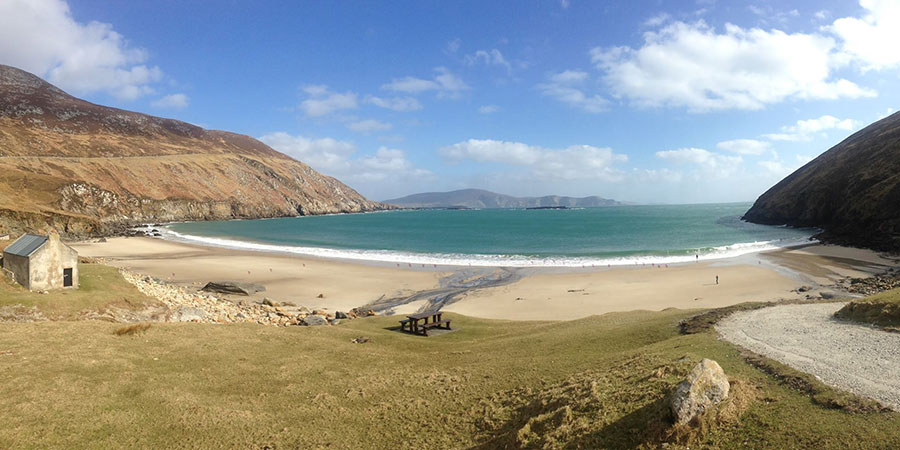 landscape-view-keem-beach-walking-the-greenway-achill-island
