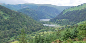 view-glendalough-lakes-wicklow-way-hiking-ireland-ways